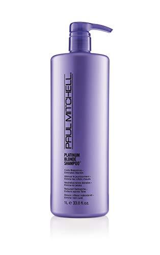 Paul Mitchell Platinum Blonde Shampoo - Violett Shampoo für strahlend blondes, graues oder weißes Haar, Pflegeshampoo gegen Gelbstich, 1000 ml