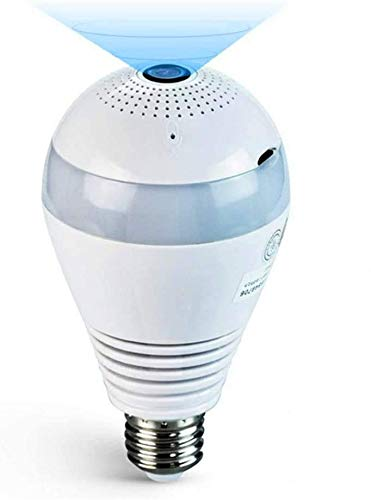 HIDDEN CAMERA IN LIGHT BULB