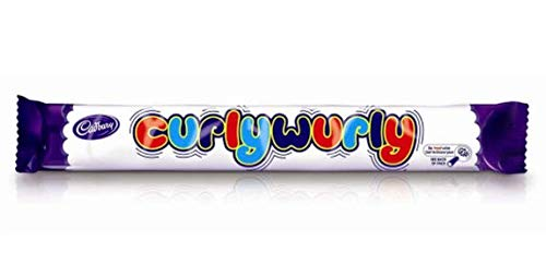 Cadbury Curly Wurly Bar from England (Pack 5 Bars)
