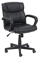 AmazonBasics Mid-Back Office Chair Pic- Best Office Chair Under 100