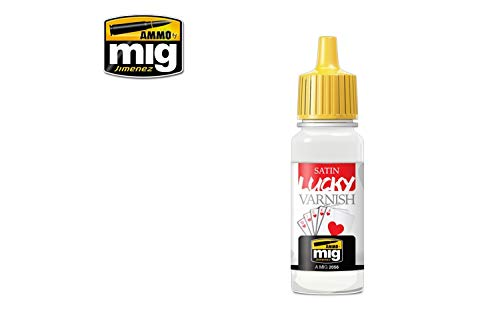 AMMO MIG-2056 Satin Lucky Lack (17 ml Größe), Mehrfarbig