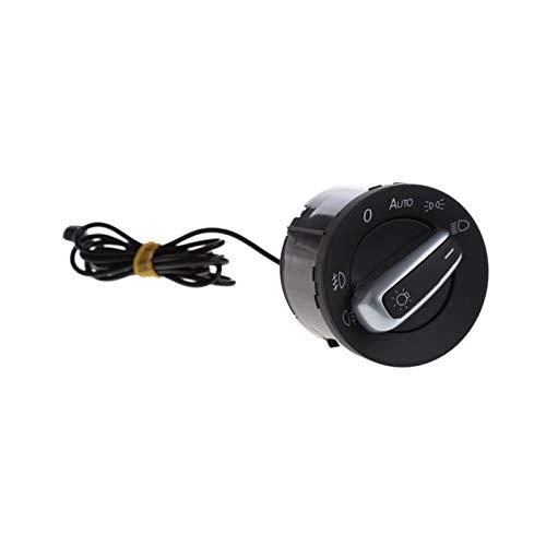 BRIGHTSUN XXshop Interruptor de Faros 1PC Fit para VW Golf 5 6 MK5 MK6 TIGUAN TURANO Sensor DE LUZ AUTOMÁTICO Sensor Y Campo