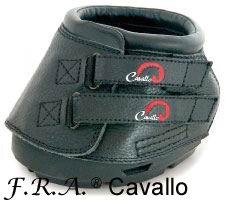Cavallo Hufschuhe Simple Gr.0 Black 1pr