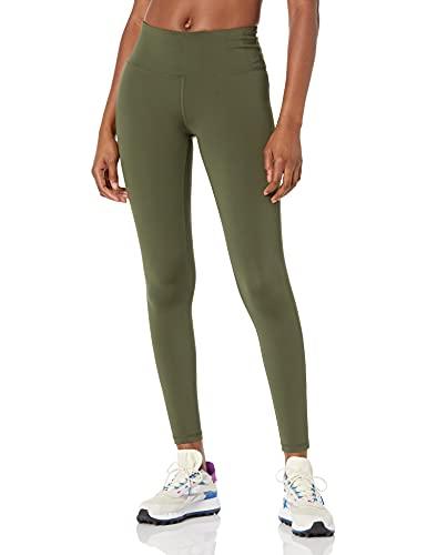 Amazon Essentials Mediados de Subida de Longitud Completa Active Sculpt leggings-pants, Verde oliva, US S (EU S - M)
