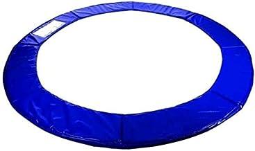 Trampoline rand afdekking 366 blauw randkussen