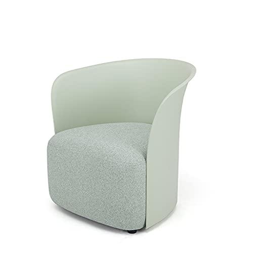 liu Casual Accent Chair Einzelsofastuhl Schneckenstuhl Lazy Single Chair Kartenhalter -69cm