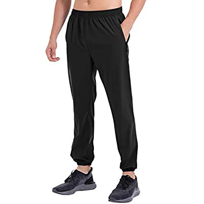 Amazon - Save 30%: Retro Gong Men's Joggers Sweatpants Workout Athletic Runing Track Pan…