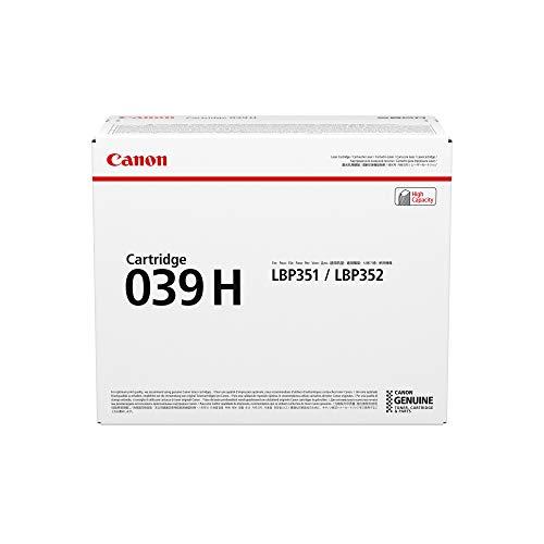 Canon cartucho 039H de tóner original negro para impresoras láser i-SENSYS LBP351x,...
