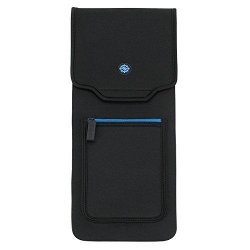ENHANCE Keyboard Tasche für mechanische Standard-Tastatur Schutz (bis zu 45,7 cm) - Robuste Neopren-Konstruktion, Aufbewahrungsfach für Reißverschlussmäuse und Kabelaufbewahrung