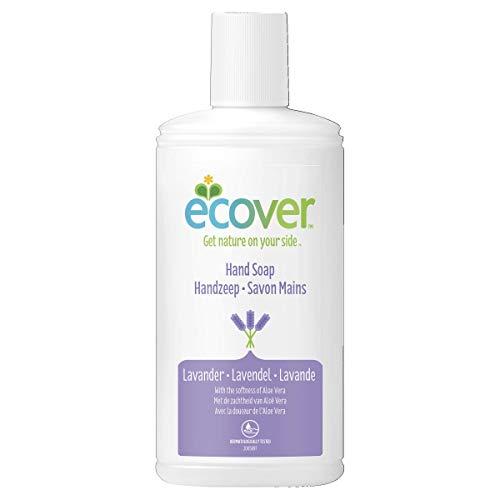 Hygiène-Handseife von Ecover, Lavendel und Aloe Vera, 250 ml