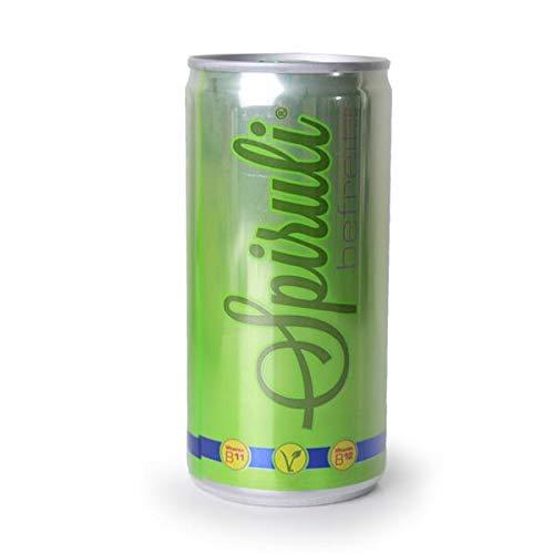 Spiruli Erfrischungsgetränk mit natürlichem B12 und Spirulina - vegan - 20er Pack (20x200ml)