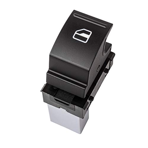 YAOPEI Interruptor de ventana eléctrico único 7L6959855B para Altea Ibiza EOS Caddy Polo Jetta Golf