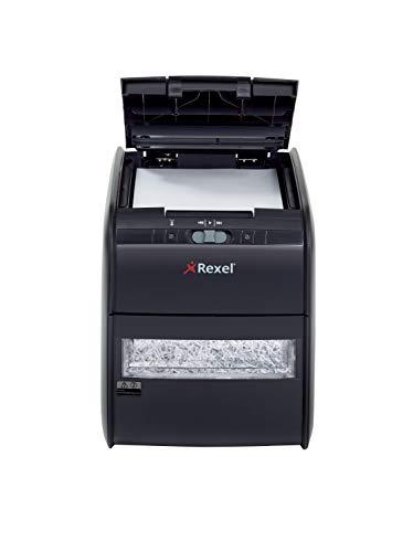 REXEL Auto+ 60X Distruggidocumenti - 2103060EU, fino a 60 fogli per volta (80 gsm) o 100 fogli (70 gsm)
