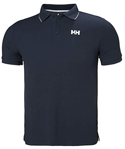 Helly Hansen Kos Polo, Polo Uomo, L, Blu (Navy)