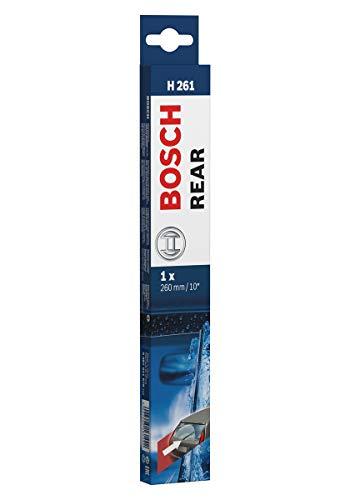 Escobilla limpiaparabrisas Bosch Rear H261, Longitud: 260mm – 1 escobilla limpiaparabrisas para la ventana trasera