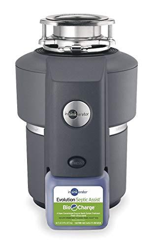 In-Sink-Erator 3/4 HP Garbage Disposal, 120 Voltage - Evolution Septic Assist(TM)