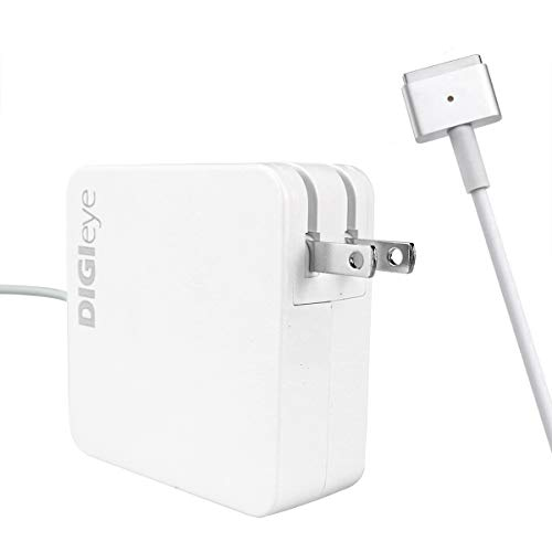 Mac Book Pro Charger, AC 60W Magnetic T-Tip Magsafe 2 Power Adapter Charger Replacement for Mac Book Pro Retina 13-inch and Mac Book Air (After Late 2012)