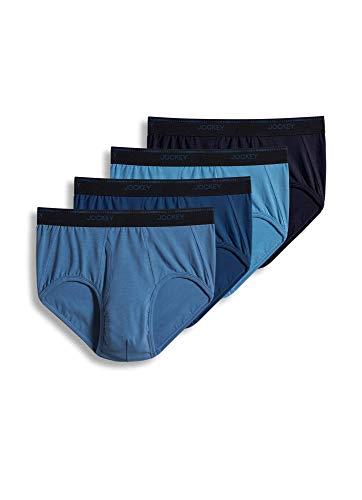 Jockey MaxStretch Unterhose für Herren, 4 Stück - - X-Large