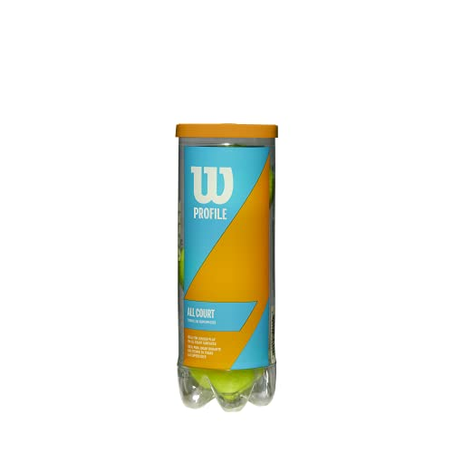 Wilson Prime All Court Tennis Balls - Single Can (3 Balls)