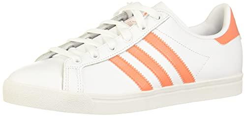 adidas Coast Star W, Scarpe da Ginnastica Donna, Bianco (Ftwr White/Semi Coral/Ftwr White Ftwr White/Semi Coral/Ftwr White), 36 2/3 EU