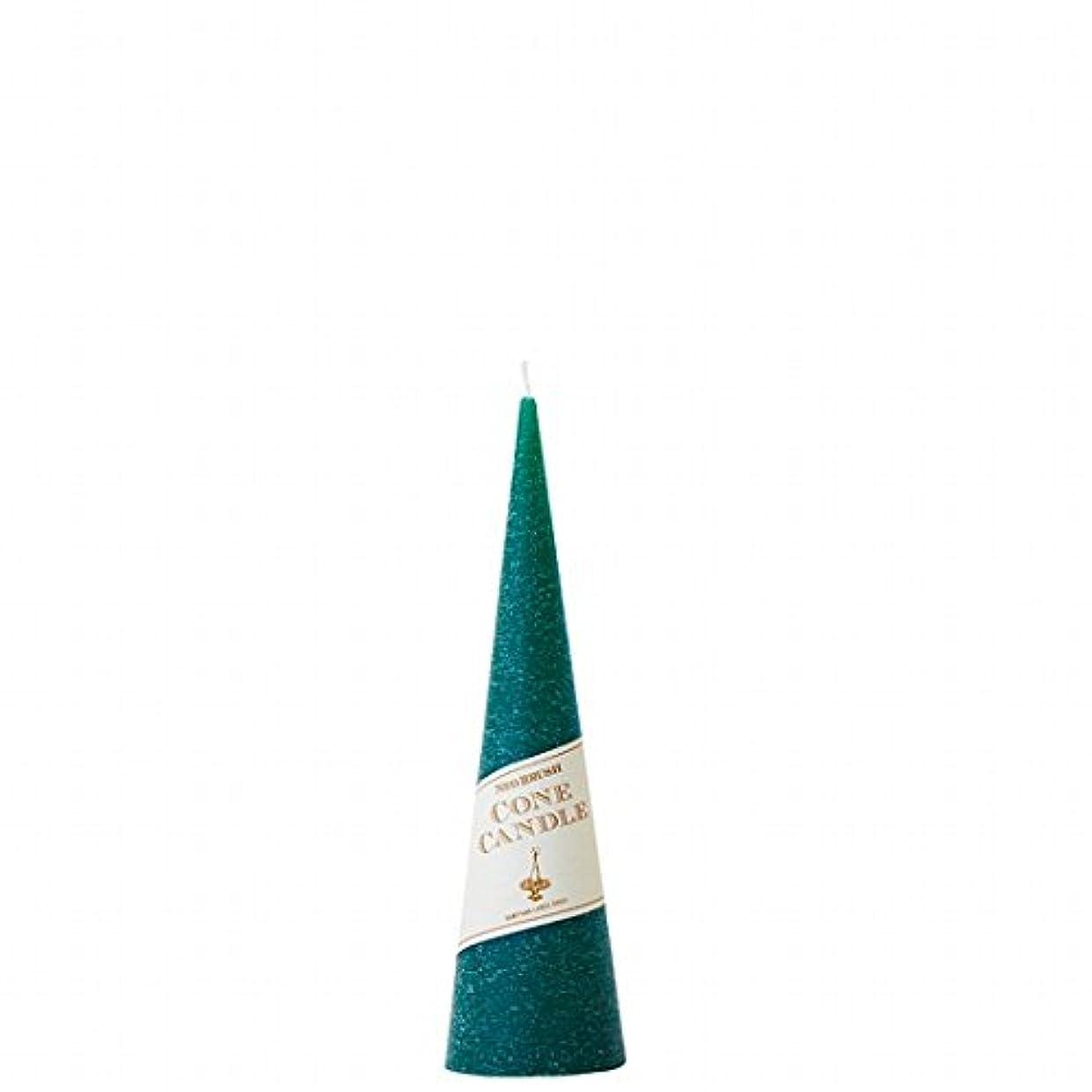 文字通り妖精太平洋諸島カメヤマキャンドル(kameyama candle) ネオブラッシュコーン 180 キャンドル 「 グリーン 」