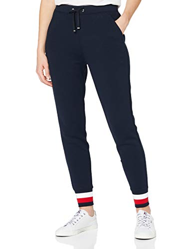 Tommy Hilfiger Damen Heritage Sweatpants Sporthose, Blau (Midnight 403), S