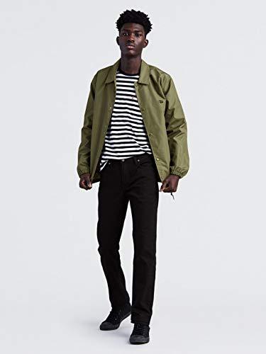 Levi's Jeans 511 Slim Fit Performance Stretch Uomo - Nero - 33W x 34L