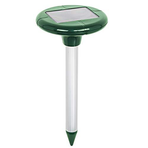 """VOSS.sonic \""""MoleEx 1000\"""" Maulwurfvertreiber Solar, mit Ton & Vibration, Wühltierfrei, Wühlmaus, Maulwurfabwehr für 650qm"""