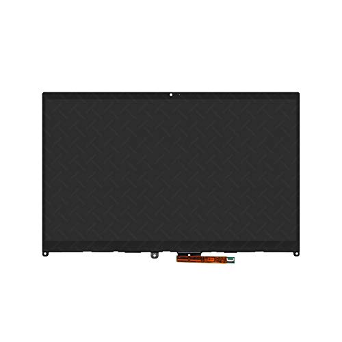 LCDOLED Replacement 14.0 inches FHD 1920x1080 IPS LCD Display Touch Screen Digitizer Assembly Bezel with Board for Lenovo IdeaPad Flex 5 14ARE05 81X2 Series 81X2000XUS (Not for Flex 5-1470 80XA 81C9)