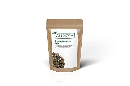 AURESA Oolong Tee Formosa Jade | Harmonischer Tee - blumig süßes Aroma | Halbfermentierter Tee aus Taiwan