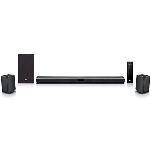 LG LASC58R 4.1 ch Sound Bar Surround System with Wireless Subwoofer