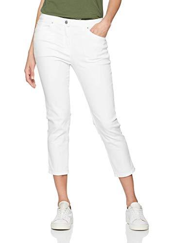 Raphaela by Brax Damen Skinny Skinny Jeans LESLEY S | Super Slim | 6207, Weiß (White 99), 42K (Herstellergröße: 16S)