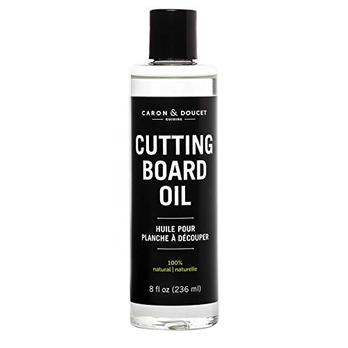 Caron amp Doucet  Cutting Board amp Butcher Block Conditioning amp Finishing Oil | 100% Plant Based amp Vegan Best for Wood amp Bamboo Conditioning amp Finishing Makes Cleaning Wood Easier | Mineral oil FREE