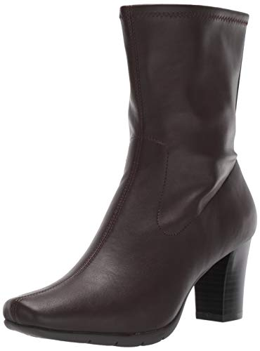 Aerosoles Women's Cinnamon Mid Calf Boot, Brown, 8.5 M US