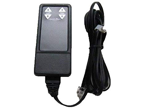 E-90 Leggett and Platt or Adjusta Magic Series Wired Remote and Cord Replacement for Adj. Bed