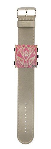 S.T.A.M.P.S. Stamps Uhr KOMPLETT - Zifferblatt Maya mit Armband Glossy Titan