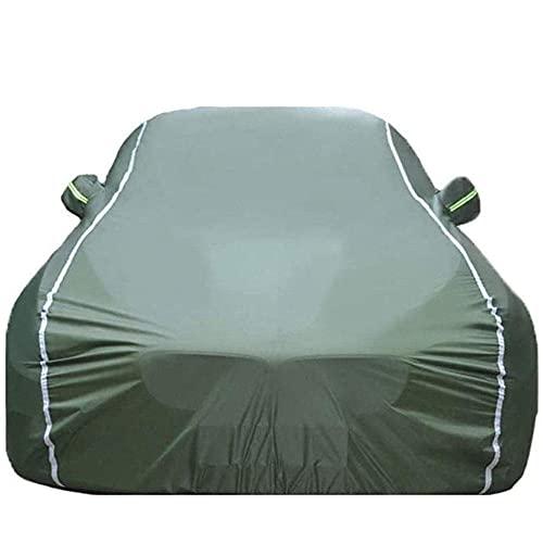 YGYDXMB Funda para Coche Compatible con Audi Q3 Q5 Q7 Q8 Impermeable Lona para Coche Cubierta Coche-algodón Verde_Audi Q2