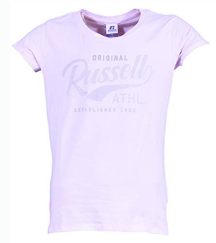 Russell Athletic A0-151 T-shirt pour femme Original S/S Crewneck (619-PN) Rose S rose