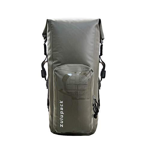 Zulupack Unisex Nomad 25 Compact Rucksack, Warmes Grau