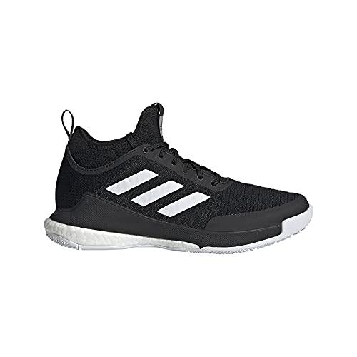 adidas Crazyflight Mid, Zapatillas de Running Mujer, NEGBÁS/FTWBLA/NEGBÁS, 46 EU