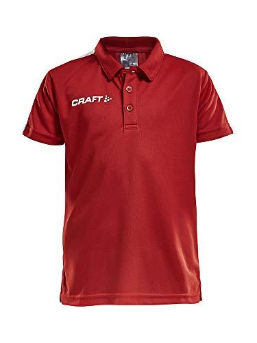 Craft PROGRESS POLO PIQUE JR, Farbe:bright red, Größe:122