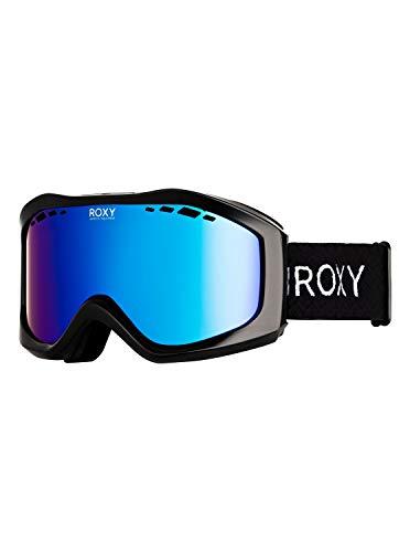 Roxy Damen Snowboard-/skibrille Sunset - Snowboard-/Skibrille, true black, 1SZ, ERJTG03111