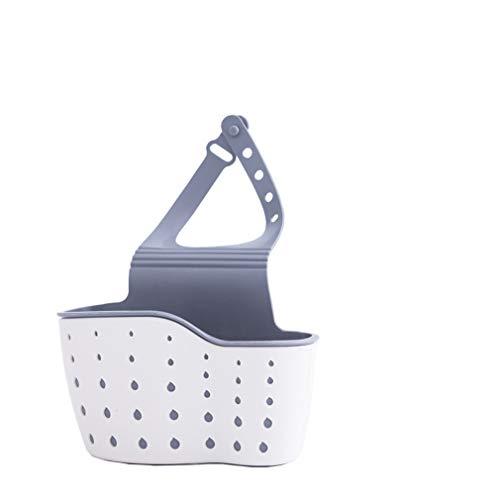 xinfe Spugne per Porta, Organizer per lavello Cestino Appeso per Rubinetto per Cucina e Bagno (Beige) (Beige)