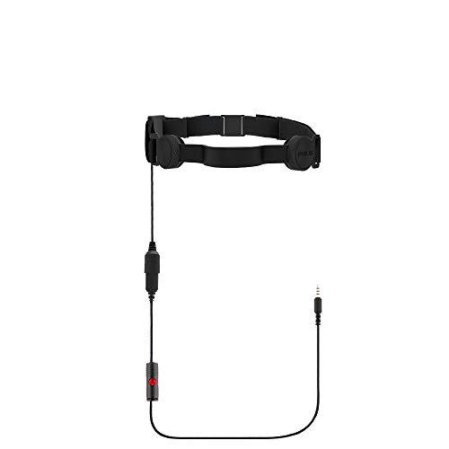 IASUS GP3-R Black Throat Mic with 3.5mm Headphone Jack for Mobile Phones with 3.5mm Headphone Jack