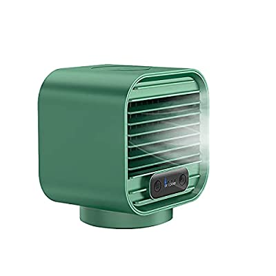 Amazon - Save 80%: Portable Air Conditioner Air Cooler Rechargeable 2000mAh Evaporative Cool…