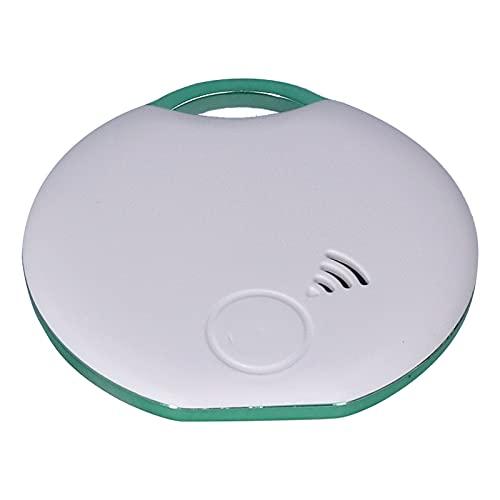 01 Rastreador de ubicación, Buscador Inteligente Neutral Anti-perdida WiFi APLICACIÓN Bluetooth Localizador de artículos portátil Multifuncional para Llaves, billeteras, Equipaje, Mascotas y más