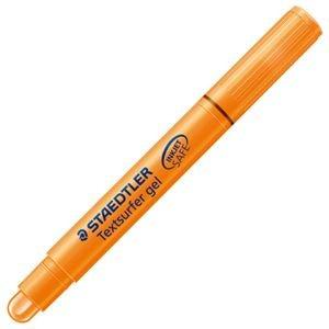 (まとめ) ステッドラー 固形蛍光マーカー テキストサーファーゲル オレンジ 264-4 PB JP 1本 【×40セット】 〈簡易梱包