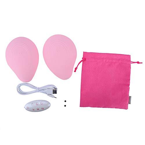 Uxsiya Bruststimulator Brustmassagegerät Brustvergrößerungsgerät für Salon for Self Care Kit für den Heimgebrauch(Pink)