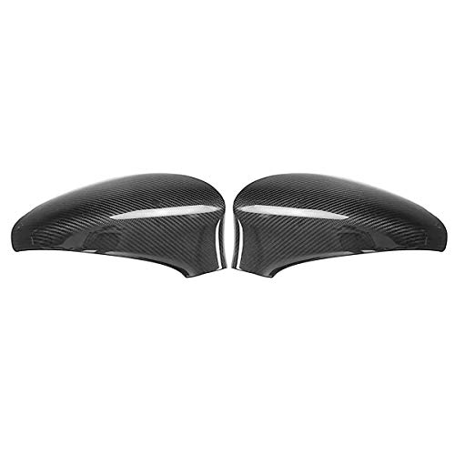 Espejo Retrovisor para Coche, For Caps Accesorios for automóviles GS350 GS450H GSF 2013-17 Modelo LHD cubierta del espejo de la fibra del carbón del coche de costado en Par