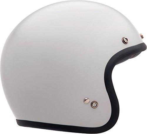 Bell Bell Solid Custom 500 Cruiser Motorradhelm – Vintage Weiß / L
